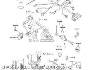 Kawasaki KLX250H7F KLX250S 2007 USA CANADA parts lists and