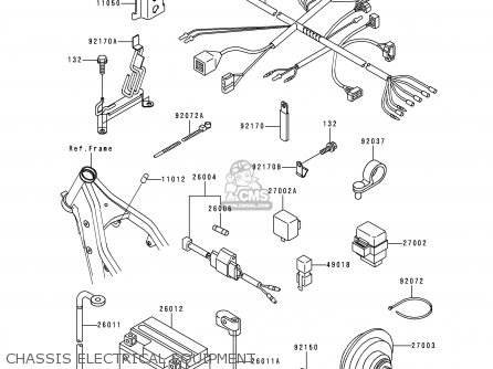 Kawasaki KLX250J2 DTRACKER 1999 GREECE parts lists and