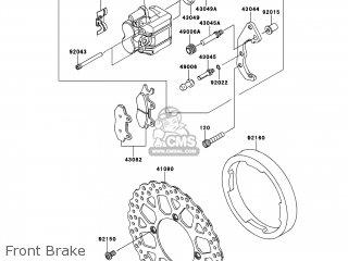 Kawasaki KLX250T9F KLX250S 2009 USA parts lists and schematics