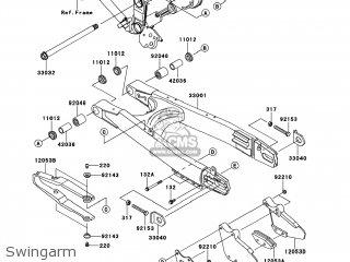 Kawasaki KLX250TCF KLX250S 2012 USA parts lists and schematics