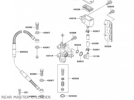Kawasaki Klx300a6 Klx300r 2001 Usa California Canada parts