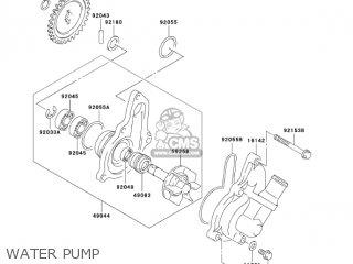 Kawasaki KLX400A1 KLX400SR 2003 USA CALIFORNIA parts lists