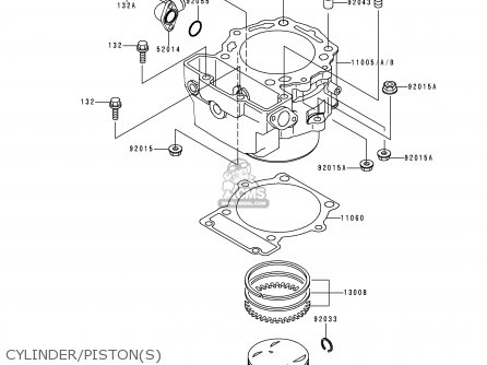 Kawasaki KLX650D4 KLX650R 1999 EUROPE FRANCE parts lists