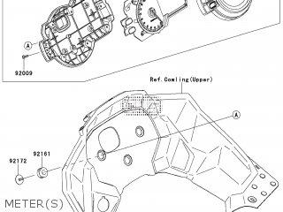 Kawasaki KLZ1000ACF VERSYS 1000 2012 EUROPE,MIDDLE EAST