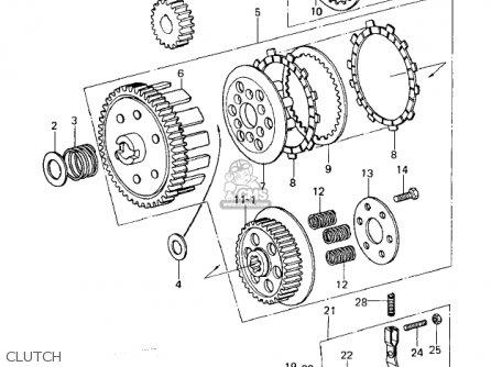1976 Kawasaki Km 100 Wiring Diagram