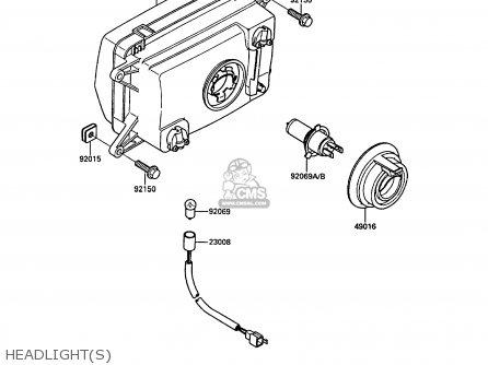 Kawasaki Kr250b2 Kr1 1989 Europe Uk Fr Gr It parts list