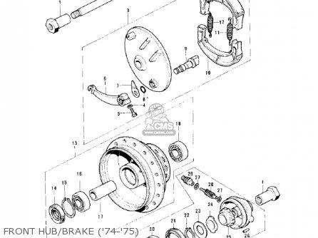 Kawasaki 1973 F7 175 Wiring Diagram 1973 Kawasaki S1 250