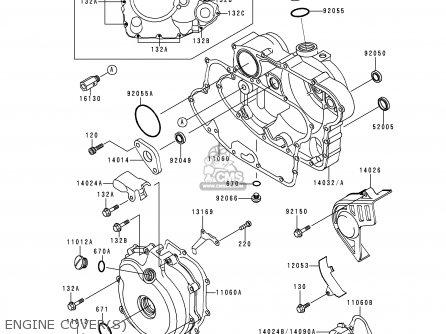 Kawasaki KSF250-A13 MOJAVE250 1999 USA CALIFORNIA parts