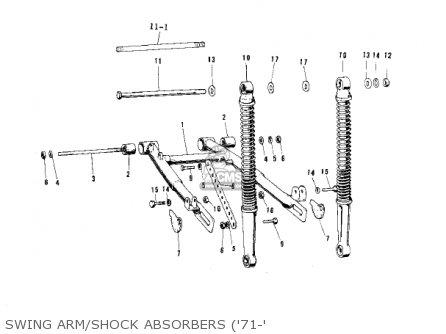 Kawasaki KV75A6 1977 parts lists and schematics