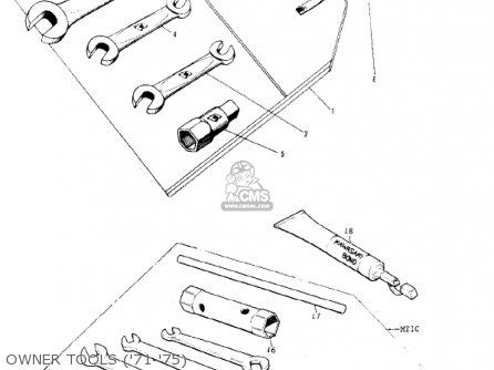 Kawasaki KV75A7 1978 parts lists and schematics