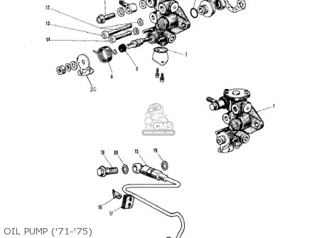 Kawasaki Kv75a8 1979 parts list partsmanual partsfiche