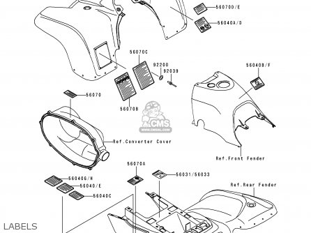 Kawasaki Prairie 300 Diagram, Kawasaki, Free Engine Image