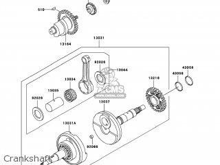 Kawasaki KVF300-A3 PRAIRIE300 2001 USA / 4X4 parts lists