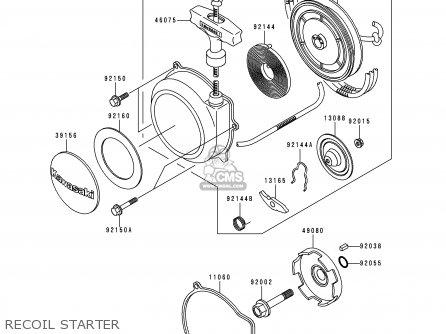 Kawasaki KVF300-B2 2000 EUROPE UK AS parts lists and