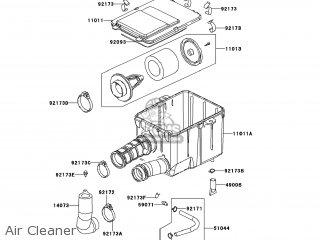 Kawasaki KVF300-CCF BRUTE FORCE 300 2012 USA parts lists