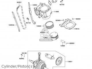 Kawasaki KVF300-CEF BRUTE FORCE 300 2014 USA parts lists