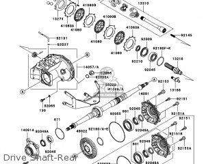 Kawasaki KVF360-A1 PRAIRIE360 2003 USA / 4X4 parts lists