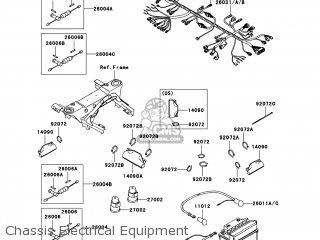 Kawasaki KVF360-A7F PRAIRIE360 2007 USA / 4X4 parts lists