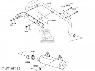 Kawasaki KVF360-B8F PRAIRIE360 2008 USA parts lists and