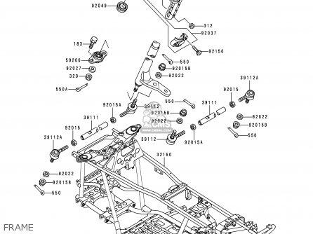 Kawasaki KVF400-B1 PRAIRIE400 1998 USA CALIFORNIA CANADA