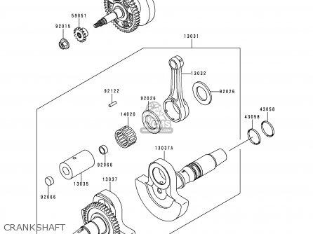 Kawasaki Kvf400-c1 Kvf4004x4 1999 Europe Uk As parts list