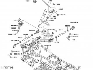 Kawasaki KVF400-C3 PRAIRIE400 2001 USA / 4X4 parts lists