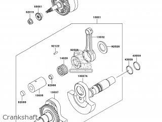 Kawasaki KVF400-C4 PRAIRIE400 2002 USA / 4X4 parts lists