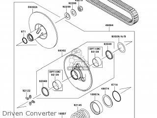 Kawasaki KVF650-A1 PRAIRIE650 2002 USA parts lists and