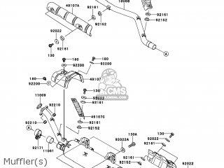 Kawasaki KVF650-FCS BRUTE FORCE 650 4X4I 2012 USA parts