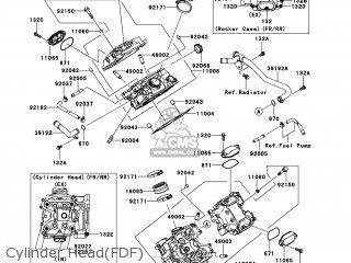 Kawasaki KVF650-FDF BRUTE FORCE 650 4X4I 2013 USA parts