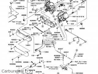 Kawasaki KVF650-G7F BRUTE FORCE 650 4X4I 2007 USA parts
