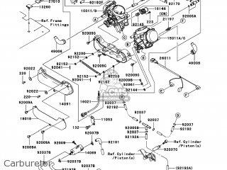 Kawasaki KVF750-B1 BRUTE FORCE 750 4X4I 2005 USA parts