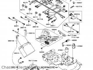 Kawasaki KVF750-D8F BRUTE FORCE 750 4X4I 2008 USA parts