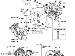 Kawasaki KVF750-E8F BRUTE FORCE 750 4X4I 2008 USA parts