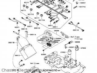 Kawasaki KVF750-E8FA BRUTE FORCE 750 4X4I 2008 USA parts