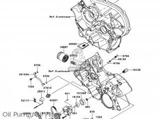 Kawasaki KVF750-E9F BRUTE FORCE 750 4X4I 2009 USA parts