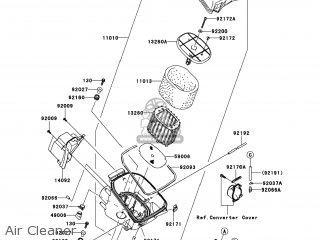 Kawasaki KVF750-LCF BRUTE FORCE 750 4X4I 2012 USA parts