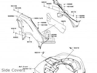 Kawasaki KVF750-LCS BRUTE FORCE 750 4X4I 2012 USA parts