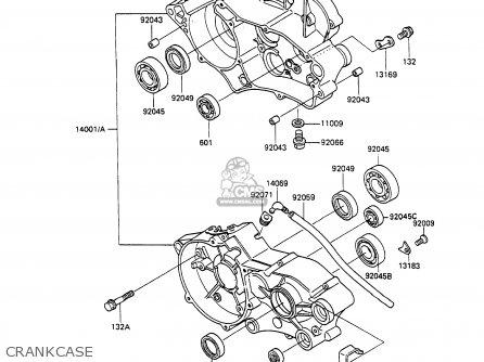 Kawasaki Kx100 Engine Kawasaki KX65 Wiring Diagram ~ Odicis