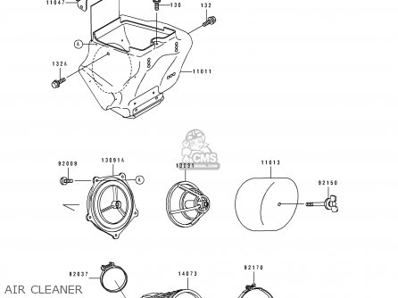 Kawasaki KX100-B7 1997 EUROPE AS parts lists and schematics
