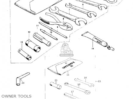 Kawasaki Kx125-a3 1976 parts list partsmanual partsfiche