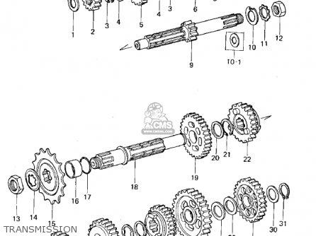 Kawasaki KX125-A5 1979 parts lists and schematics