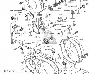 Kawasaki KX125-L1 1999 EUROPE FR AS parts lists and schematics