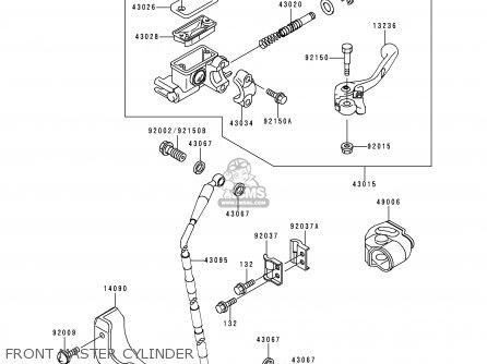 Kawasaki KX125-L2 2000 EUROPE AS parts lists and schematics
