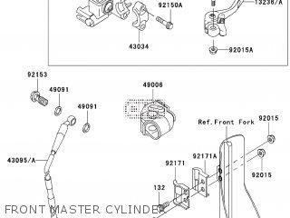 Kawasaki KX125M6F 2006 EUROPE parts lists and schematics