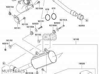Kawasaki KX125M7F 2007 EUROPE parts lists and schematics
