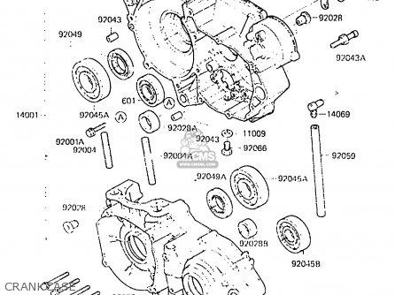 Kawasaki 175 Wiring Diagram Wiring Diagramsator kx250 ... on