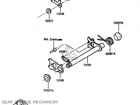 Kawasaki KX250-D2 1986 EUROPE UK AL parts lists and schematics