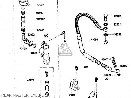 Kawasaki Kx250-d2 1986 Europe Uk Al parts list partsmanual