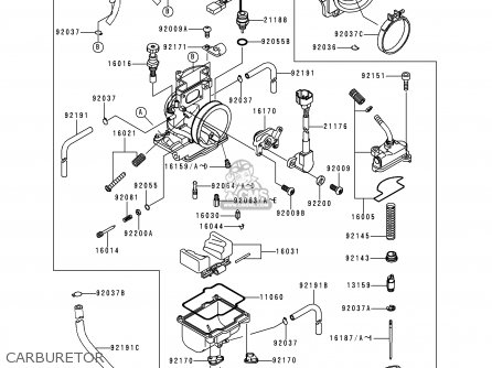 Kawasaki KX250-L1 1999 USA CANADA parts lists and schematics